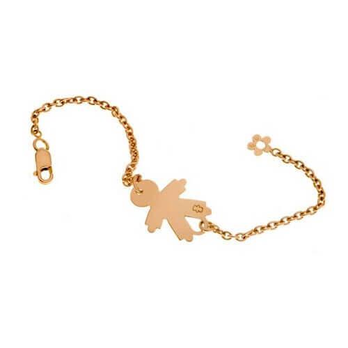 Bracelet identit b b or jaune or blanc loupidou bracelet fille bracelet gar on - Bebe fille ou garcon ...