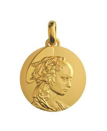 Monnaie de Paris : médaille Madone de Filippo Lippi (or jaune)