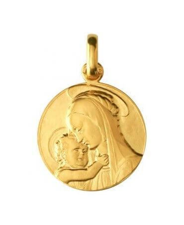 Monnaie de Paris : médaille Vierge de Botticelli (or jaune)