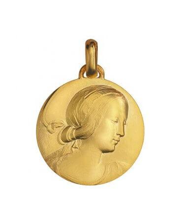 Monnaie de paris : médaille Vierge de Milan (or jaune)