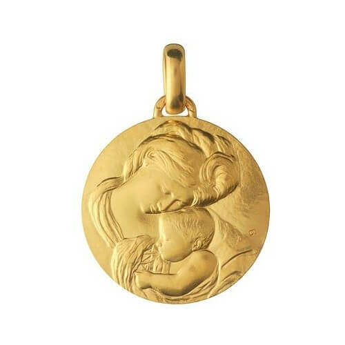 Monnaie de Paris : médaille Madone du Caravage (or jaune)