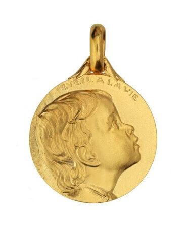 Monnaie de Paris : médaille Eveil à la Vie (or jaune)