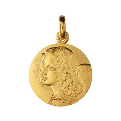 Monnaie de Paris : médaille Ange de Léonard de Vinci (or jaune)