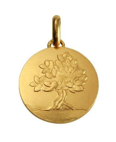 """Monnaie de Paris : médaille """"je grandirai comme un arbre"""" (or jaune)"""