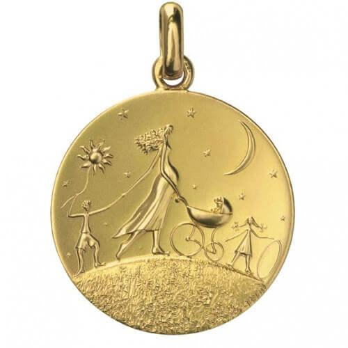 Monnaie de Paris : médaille Ronde de la Vie (or jaune)