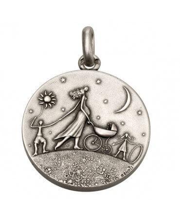 Monnaie de Paris : médaille Ronde de la Vie (argent)