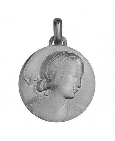 Monnaie de Paris : médaille Vierge de Milan (argent)
