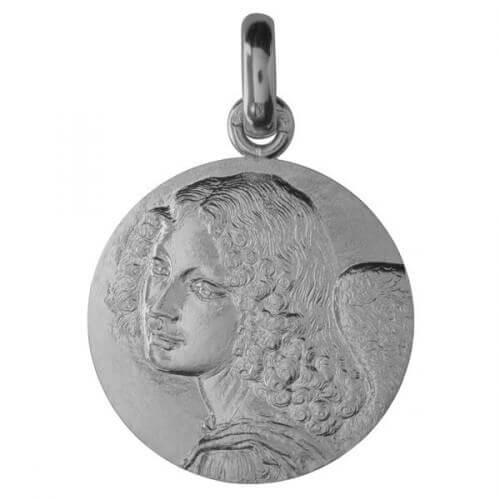 Monnaie de Paris : médaille Ange de Léonard de Vinci (argent)