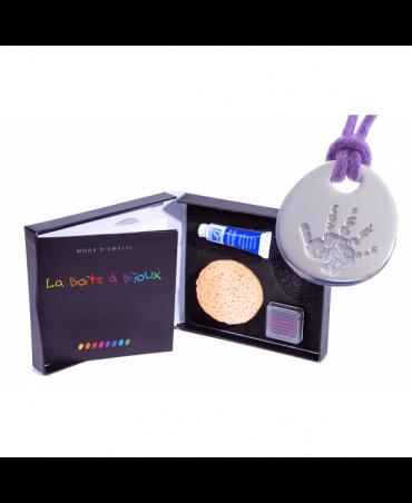 Les Empreintes : Boîte à Bijoux Galet Zen