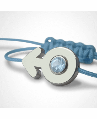 Mikado : bracelet Sex Symbol Garçon (argent)