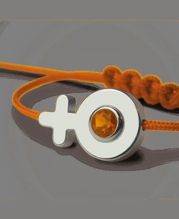 Mikado : bracelet Sex Symbol Fille (or blanc)