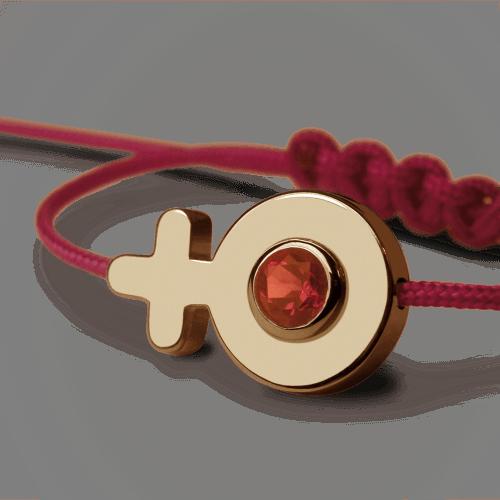Mikado : bracelet Sex Symbol Fille (or jaune)