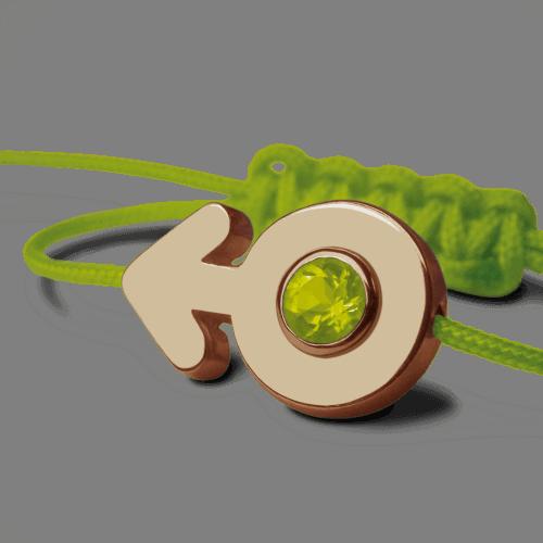 Mikado : bracelet Sex Symbol Garçon (or jaune)