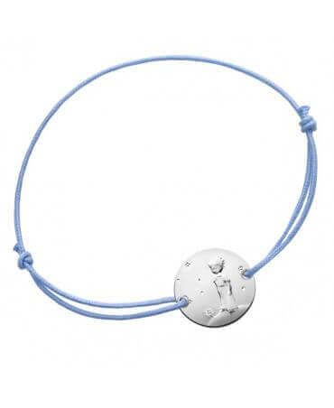 La Monnaie de Paris : bracelet garçon Petit Prince Planète (argent)