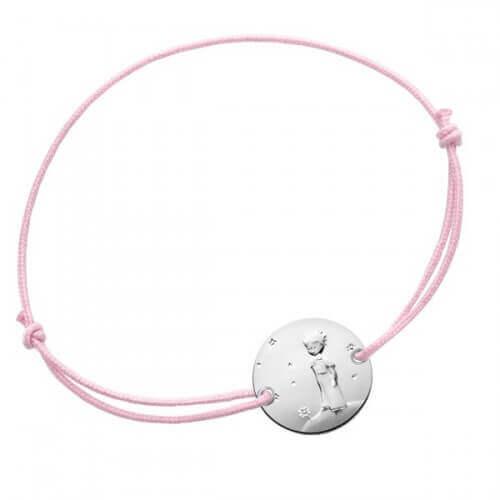 La Monnaie de Paris : bracelet fille Petit Prince Planète (argent)