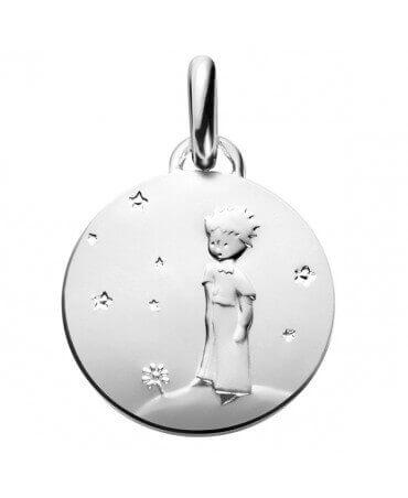 La Monnaie de Paris : médaille Petit Prince sur sa planète (argent)