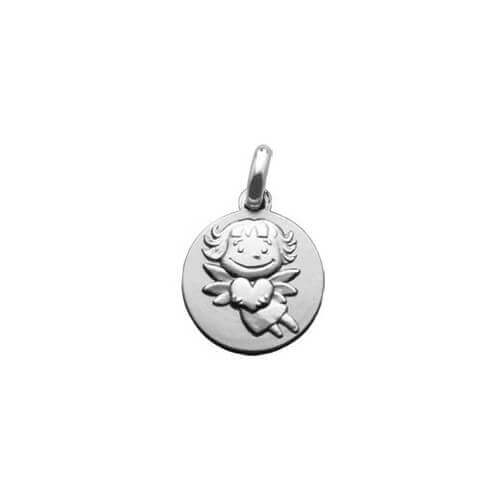 Gut gemocht Médaille de baptême fille – médaille Précieuse - La Fée Galipette HB03