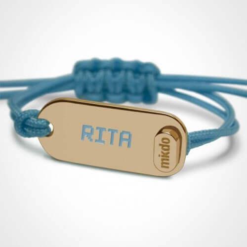 Mikado : bracelet Life (or jaune)