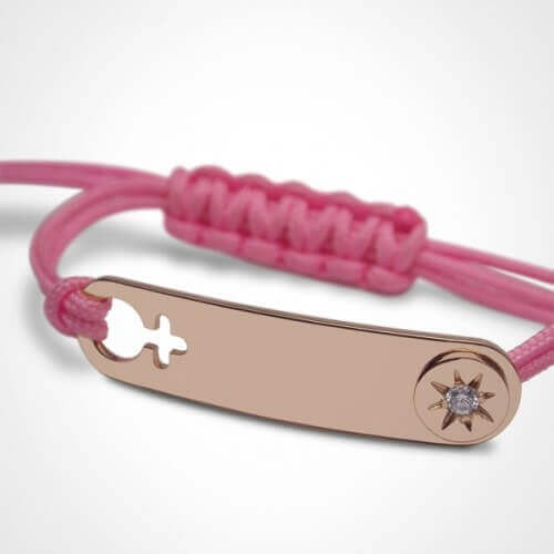 Mikado : bracelet fille I am a star (or rose)