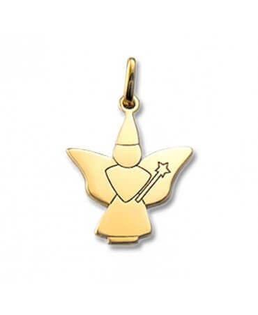 Daddo : pendentif fée papillon (or jaune)