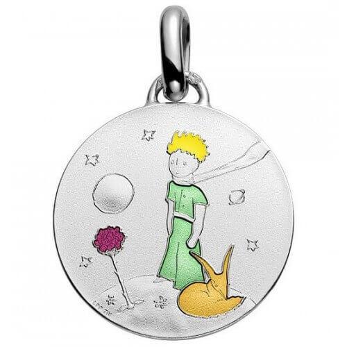 La Monnaie de Paris : médaille Petit Prince en couleur (argent)