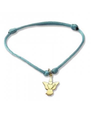 Daddo : bracelet Little Féeric fée papillon (or jaune)