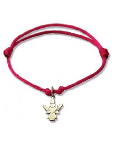 Daddo : bracelet Little Féeric fée libellule (or blanc)