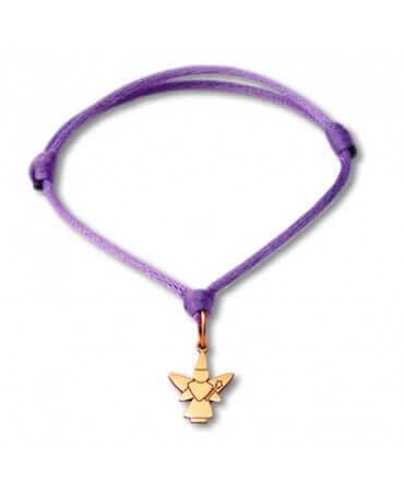 Daddo : bracelet Little Féeric fée libellule (or rose)