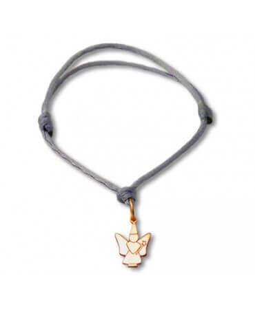 Daddo : bracelet Little Féeric fée colibri (or rose)