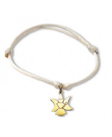 Daddo : bracelet Little Féeric fée lune (or jaune)