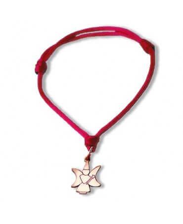 Daddo : bracelet Little Féeric fée lune (or rose)