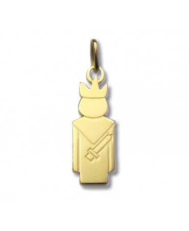 Daddo : pendentif Roi (or jaune)