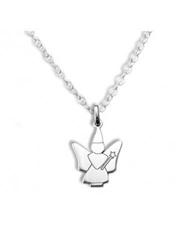 Daddo : pendentif fée colibri (argent)