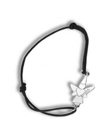 Daddo : bracelet fée libellule (argent)