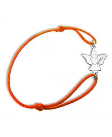 Daddo : bracelet fée papillon (argent)