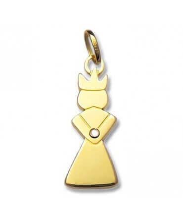 Daddo : pendentif Reine (or jaune) (diamant)
