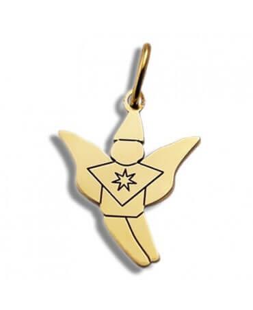 Daddo : pendentif elfe (or jaune)