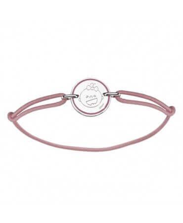 Augis : bracelet naissance fille Les Petites Bouilles (argent)