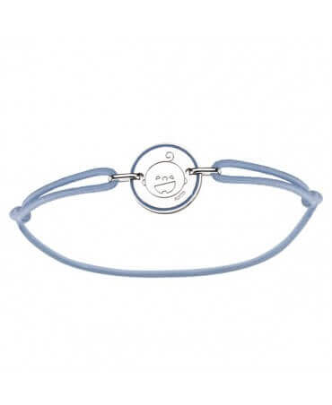 Augis : bracelet naissance garçon Les Petites Bouilles (argent)