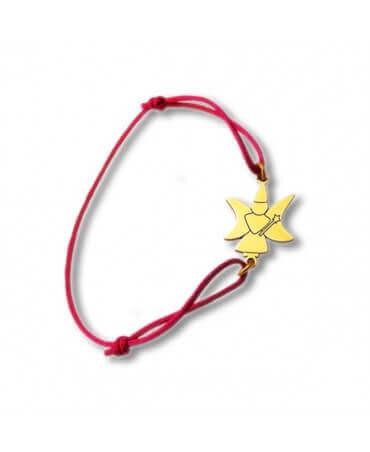 Daddo : bracelet cordon fée lune (or jaune)