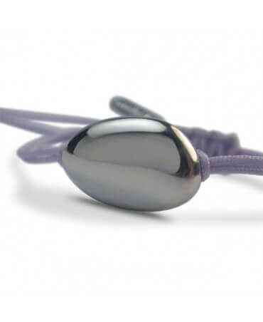 Mikado : bracelet Dragée (or blanc)
