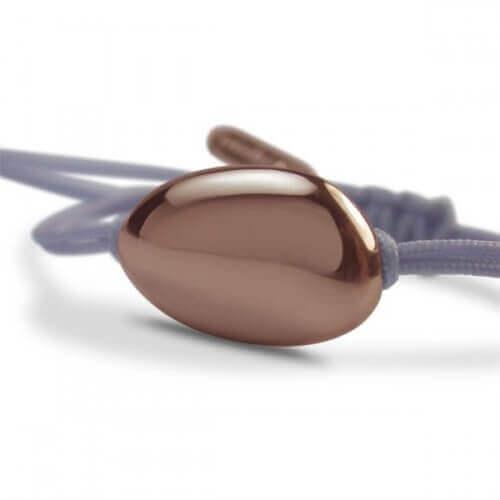 Mikado : bracelet Dragée (or rose)