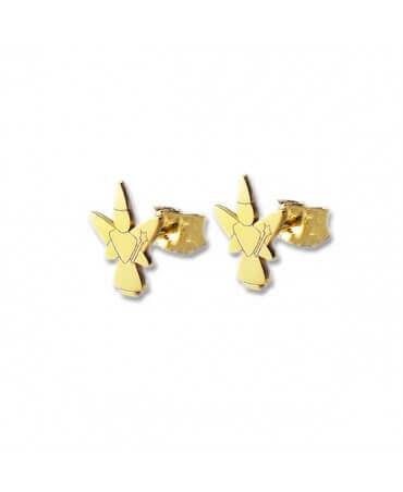 Daddo : boucles d'oreilles fille libellule (or jaune)