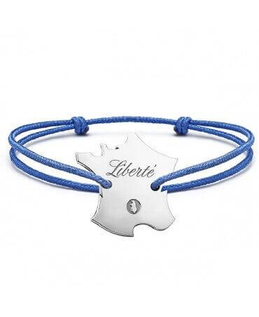 Bracelet France personnalisable