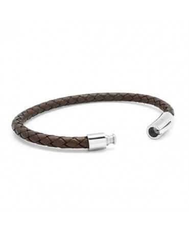 Petits Trésors : bracelet cuir homme Epicurien