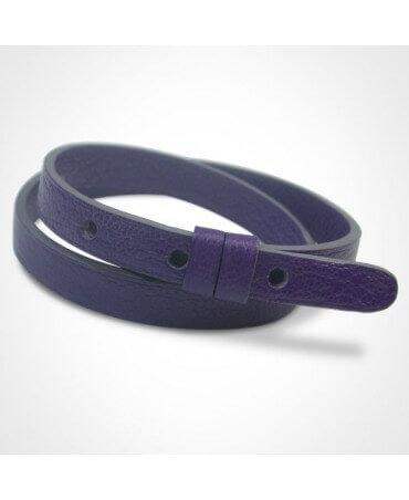 Mikado : bracelet cuir rechange (double)