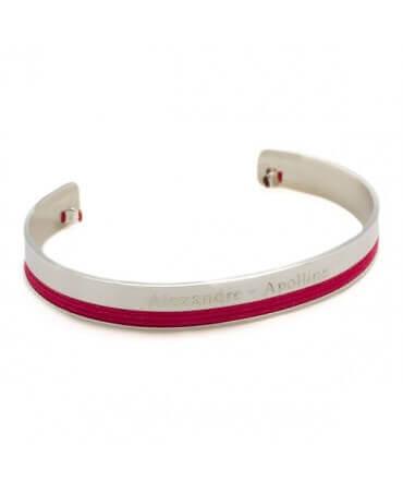Petits Trésors : bracelet jonc philharmonie (argent)