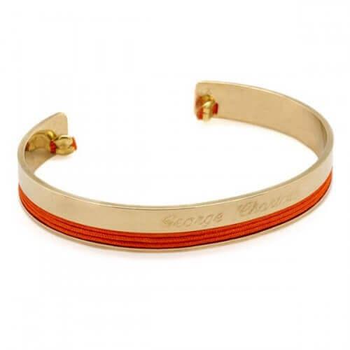 Petits Trésors : bracelet jonc philharmonie (plaqué or)