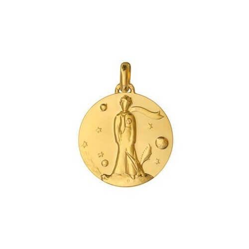 Monnaie de Paris : médaille Le Petit Prince au renard (or jaune)