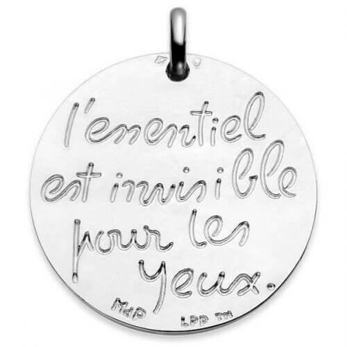 La Monnaie de Paris : médaille l'Essentiel est Invisible (argent)